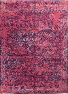 Jaipur Jenny Jones-Global Chambord Cg06 Italian Plum / Deep Claret Area Rug.  Hand-knotted, wool and silk, and pretty darned spectacular. So ... 5x8is $ 2160. Comes in three other colorways.