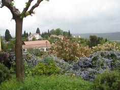 Fayence sous la pluie, Provence #France