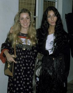 Cher with her her sister