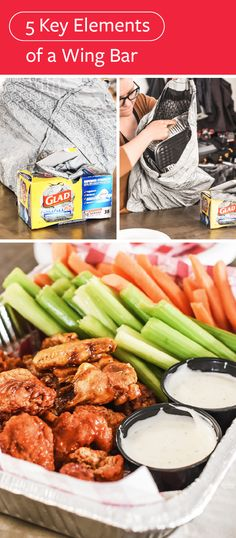 When it comes to game day grub, sticking with the classic appetizer recipes is always a touchdown-worthy idea—and these 5 Key Elements of a Wing Bar are a great place to start. With Glad ForceFlex Plus Advanced Protection Trash Bags and their LeakGuard™, RipGuard™, and 7-day odor control here to help assist with the post-party cleanup, your entire game day celebration is sure to be a success. For even more to cheer for, pick up all the ingredients and essentials you'll need at Target!