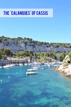 Calanques, southern France via Happy Interior Blog