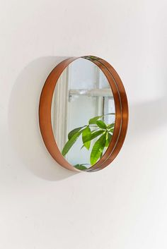 Miroir rond Averly de dimension moyenne
