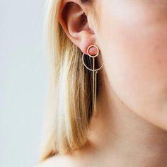 Raw Geode Crystal Earrings, Pale Yellow Crystal Jewelry for Her, Crystal Bridal Earrings, Anniversary Girlfriend Wife, Pastel Gift – Fine Jewelry Ideas – hoopearrings Sapphire Earrings, Gold Hoop Earrings, Bridal Earrings, Statement Earrings, Earrings Uk, Tourmaline Earrings, Sea Glass Jewelry, Crystal Jewelry, Crystal Earrings