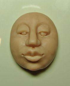 Make a face with polymer clay -- Dottie Hoeschen