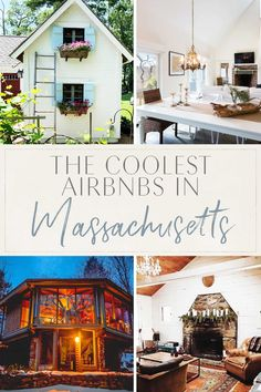 The Coolest Airbnbs in Massachusetts Cape Cod Cottage, Essex Street, Romantic Escapes, Victorian Cottage, Best Travel Guides, Cozy Fireplace, Gothic House, Most Beautiful Beaches, United States Travel