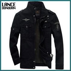 Cheap mens denim jacket, Buy Quality men jacket directly from China army bomber jacket Suppliers: Men Jacket Winter Military Army bomber jackets jaqueta masculina plus size coat mens denim jacket for aeronautica militare Army Bomber Jacket, Cargo Jacket, Windbreaker Jacket, Army Coat, Air Force Jacket, Military Style Jackets, Army Jackets, Bomber Jackets, Casual Jackets