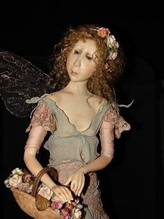 Tine Kamerbeek of The Netherlands OOAK Fairy