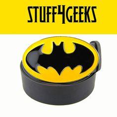 Classic Batman Symbol (Belt Buckle) on Etsy, $12.99