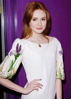 Karen Gillan pictures and photos Karen Gillen, Karen Sheila Gillan, Pretty Redhead, Bionic Woman, Gorgeous Women, Gorgeous Lady, Hello Beautiful, Celebrity Crush, Doctor Who