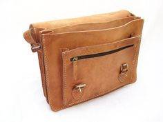 Piccadilly Case handmade vintage style leather by FableBags