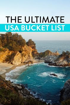 101 USA Places to Visit - What to Do in America // Local Adventurer travel usa 101 Places to Visit in USA - Your Ultimate USA Bucket List Usa Places To Visit, Places To Go, Vacation Places In Usa, Best Vacations For Couples, Cheap Vacation Destinations, Cheap Family Vacations, Midwest Vacations, Best Family Vacation Spots, Best Summer Vacations
