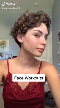 Beauty Tips For Glowing Skin, Beauty Skin, Hair Beauty, Face Yoga Exercises, Facial Yoga, Gym Workout For Beginners, Skin Care Routine Steps, Face Massage, Sport Fitness