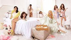 Adult Slumber Party, Sleepover Party, Slumber Parties, Girl Sleepover, Themed Parties, Shooting Photo Boudoir, Kate Mckinnon, Pajama Party, Saturday Night Live