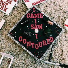 Makeup graduation cap