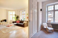 Skeppsholmen Fastighetsmäkleri Sotheby's International Realty - Ljus hörnvåning med otrolig rymd