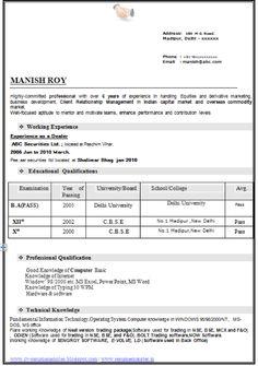 Resume Title Impressive Resume Format For Mba Freshers Resume     Brefash