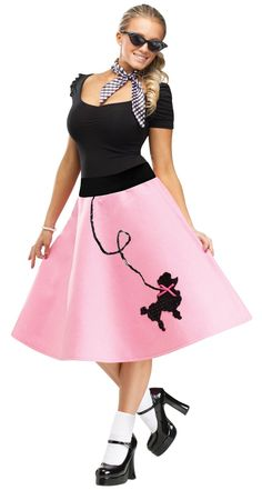 Adult Poodle Skirt-always wanted to dress up as this!!