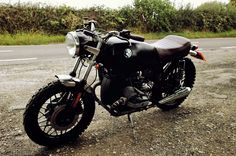 BMW R45 Scrambler, small and cool