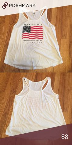 Old Navy 2015 tank Was 2015 your year??? Well then this is for you!! Old Navy Tops Tank Tops