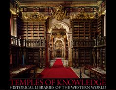 Joanina Library, Coimbra University, Coimbra, Portugal from the limited edition BOOK: Temples of Knowledge: Historical Libraries of the Western World ©  AHMET ERTUG (PhotoArtist, Author). Shop site: http://www.biblio.com/books/245933899.html Photo site: http://www.templesofknowledge.com/ [Do not remove caption. The law requires you to credit the photographer. Link directly to his website.]  The Golden Rule: http://www.pinterest.com/pin/86975836527744374/