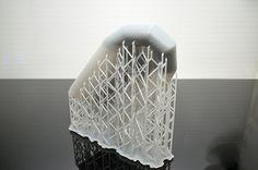 Maquette de coque de semi-rigide en impression 3D. plus d'info sur http://www.formes-et-volumes.fr/actualite.html