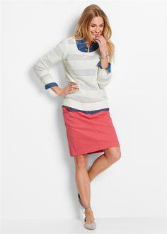 Stretch-Rock hellpink - bpc bonprix collection jetzt im Online Shop von bonprix.de ab ? 19,99 bestellen. Mit Stretch-Anteilen erhalten Kleidungsstücke eine ...