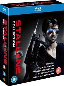 The Sylvester Stallone Collection Collection of five films starring Sylvester Stallone. In Assassins (1995) professional hitman Rath (Stallone) decides its time to call it a day even though he is still the best around. But as he searc http://www.MightGet.com/january-2017-12/the-sylvester-stallone-collection.asp