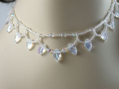 Starlight Beaded Necklace and Earrings Set