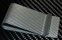 The Weißglas Carbon Fiber Money Clip™ by Carbon Fiber Designs