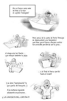 Barquito de papel. Papiroflexia con cuento. | Mi Sala Amarilla