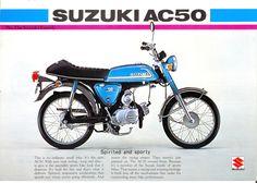 1975 Suzuki AC50M