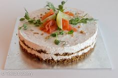 salmon mousse cake
