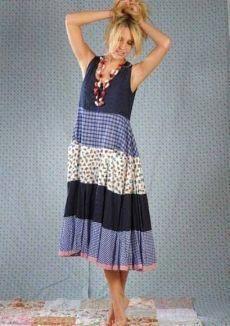 Fiordaliso Dress by Nadir Positano Simple Dresses, Cute Dresses, Vintage Dresses, Summer Dresses, Boho Fashion, Fashion Dresses, Womens Fashion, Skirt Outfits, Dress Skirt