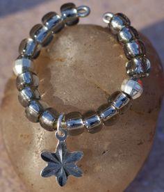 Silver Lined Beads - Gun Metal