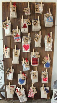 Adventný kalendár z lásky.. / weim » SAShE.sk - slovenský handmade dizajn Advent Calendar, Diy And Crafts, Diy Projects, Holiday Decor, Christmas, Craft Ideas, House, Calendar, Xmas