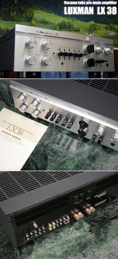InJapan.ru — LUXMAN ламповый усилитель LUXMAN LX38 проведено техобслуживание (товар в хорошем состоянии) — просмотр лота