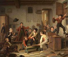 Between Two Classes Basile de Loose (1809 – 1885, Belgian)