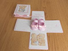 Christening Day - Baby Girl - Exploding Box Card
