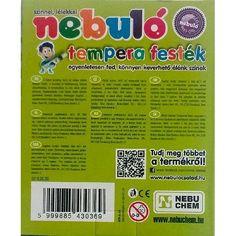 Nebuló tempera festék 12 ml alu tubusban - 6-os tempera készlet Ft Ár 659