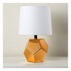 Geometric Lamp, Kids Lamps, Bedside Table Lamps, Kids Lighting, Nightlights, Lamp Bases, Ceiling Lamp, Crate And Barrel, Floor Lamp
