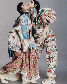 #theveronicas The Veronicas, Gucci Fashion, High Fashion, Womens Fashion, Girl Bands, Rain Jacket, Lisa, Windbreaker, Kimono Top