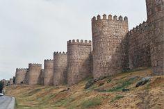 Ávila 24-8-2002 - Fortificazione - Wikipedia