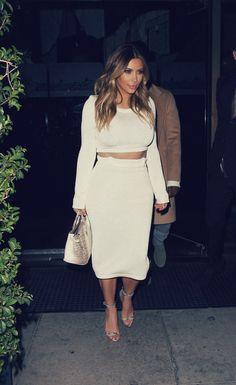 Kim kardashian - loving everything she's wearing lately!