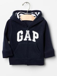 Fleece logo zip hoodie Product Image