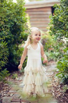 One Good Thread - Dollcake - Dance to the Rhythm Flower Girl Dress - Vanilla Cream, $89.00 (http://www.onegoodthread.com/dollcake-dance-to-the-rhythm-flower-girl-dress-vanilla-cream/)