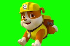 Making Rubble from Paw Patrol