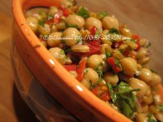 Kamut & Chickpea Salad - delicious recipe, easy to make!