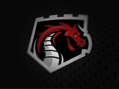 Dragons logo by Thomas Hatfield, via Behance