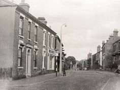 Brook Street, facing East from corner of Cathcart Road, 1961