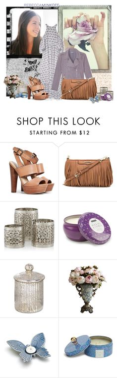 """""""Rebecca Minkoff's Spring 2016 Collection"""" by hummingbird81 ❤ liked on Polyvore featuring Polaroid, Rebecca Minkoff, Steve Madden, Paddywax, Vera Bradley, women's clothing, women, female, woman and misses"""